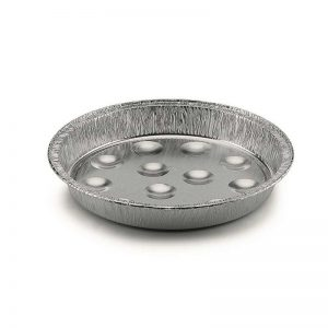 Assiette d'escargot en aluminium